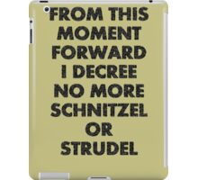 Fargo - No More Schnitzel or Strudel iPad Case/Skin