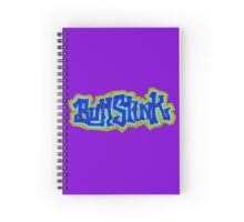Buttstink, grape drink Spiral Notebook