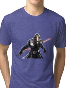 Star Wars - Darth Vader Vector Tri-blend T-Shirt
