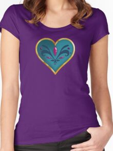 Sailor Scout Elsa  Locket Women's Fitted Scoop T-Shirt