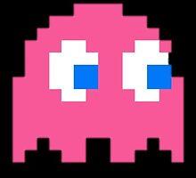 Pac-man Ghost by zogumus