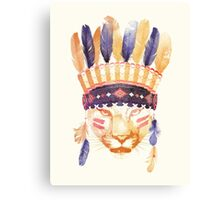 The Big Chief Canvas Print