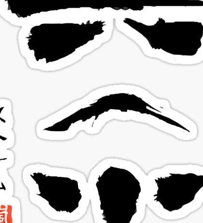 Star Wars Stormtrooper Minimalistic Painting Sticker
