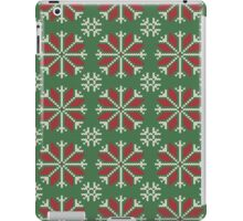 Knitted Christmas jacquard iPad Case/Skin