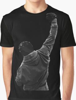 Never give UP! Rocky Balboa Graphic T-Shirt