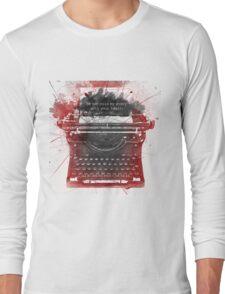 What Richard Castle Said 2.0 Long Sleeve T-Shirt