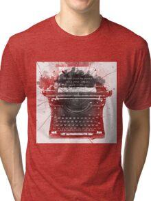 What Richard Castle Said 2.0 Tri-blend T-Shirt