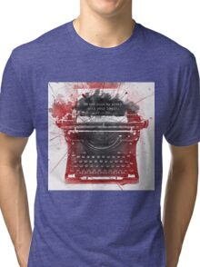 What Richard Castle Said 2.0 Tri-blend T-Shirt