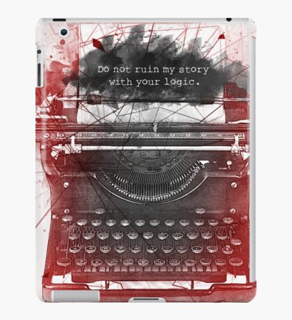 What Richard Castle Said 2.0 iPad Case/Skin