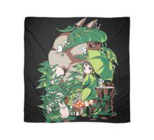 Totoro Green Scarf