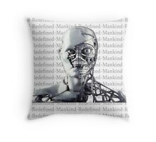 Mankind Redefined Synth Throw Pillow