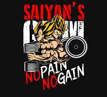 SAIYAN'S GYM - changed slogan on request T-Shirt