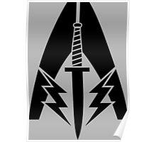 System Alliance Marines Symbol Poster