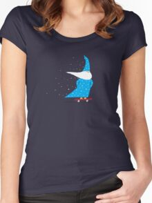 Skateboard Wizard Women's Fitted Scoop T-Shirt