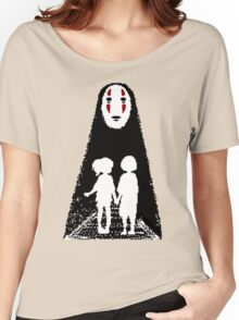 Noface, Chihiro and Haku Women's Relaxed Fit T-Shirt