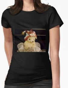Waiting for the holidays Womens Fitted T-Shirt