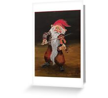 The Mean Fiddler Greeting Card