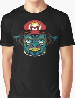 Mario Jedi Graphic T-Shirt