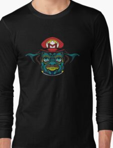 Mario Jedi Long Sleeve T-Shirt