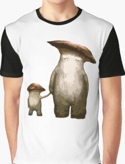 Mushroom People Graphic T-Shirt