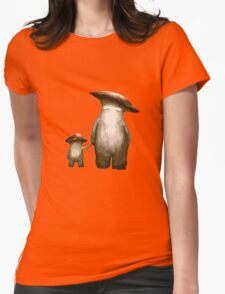 Mushroom People Womens Fitted T-Shirt