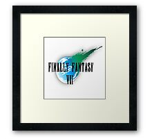 Finally Fantasy 7 Framed Print