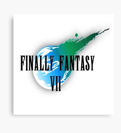 Finally Fantasy 7 Canvas Print