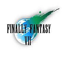 Finally Fantasy 7 Photographic Print