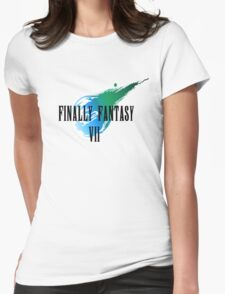 Finally Fantasy 7 Womens Fitted T-Shirt