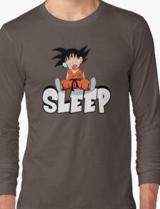 Goku Sleeping Long Sleeve T-Shirt