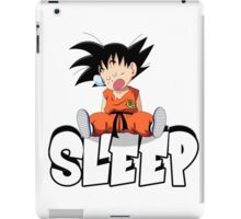Goku Sleeping iPad Case/Skin