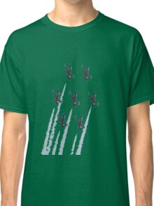 Breit patrole with chemtrails Classic T-Shirt