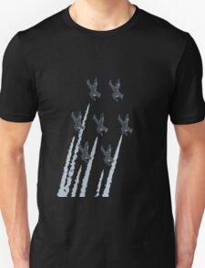 Breit patrole with chemtrails Unisex T-Shirt