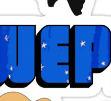 WWEPD? Sticker