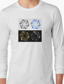 Aperture in different colors  Long Sleeve T-Shirt