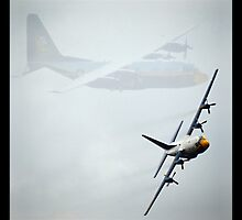 Blue Angels C-130 at MCAS Miramar  by seeyoutoo