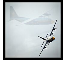 Blue Angels C-130 at MCAS Miramar  Photographic Print