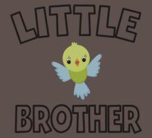 Bird Little Brother One Piece - Short Sleeve