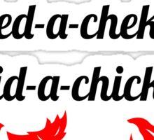 Lobstrosity Dad-a-Chum Sticker
