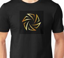 Golden aperture  Unisex T-Shirt