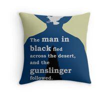 Dark Tower - Gunslinger Throw Pillow