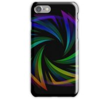 Abstract futuristic design element  iPhone Case/Skin