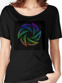 Abstract futuristic design element  Women's Relaxed Fit T-Shirt
