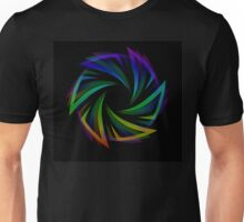Abstract futuristic design element  Unisex T-Shirt