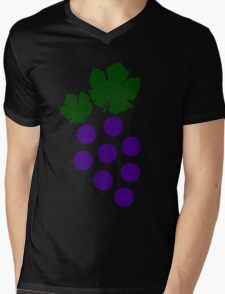 Grapes Mens V-Neck T-Shirt