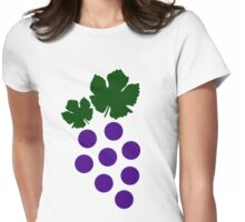Grapes Womens Fitted T-Shirt