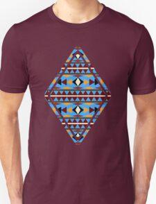 Navajo Blue Pattern T-Shirt