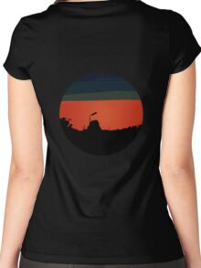 Red Sky Women's Fitted Scoop T-Shirt