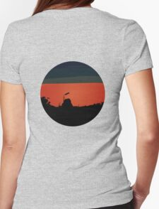 Red Sky Womens Fitted T-Shirt