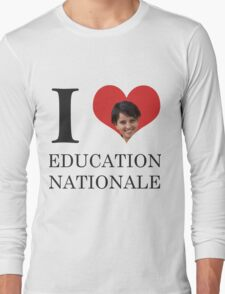 I Love Education Nationale Long Sleeve T-Shirt